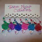 Disco Fever Wine Charms Collection