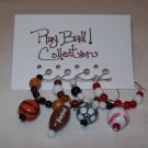 Play Ball! Wine Charms Collection