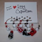 I Love Lucy Wine Charms Collection