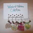 Words of Wisdom Petite Wine Charms Collection
