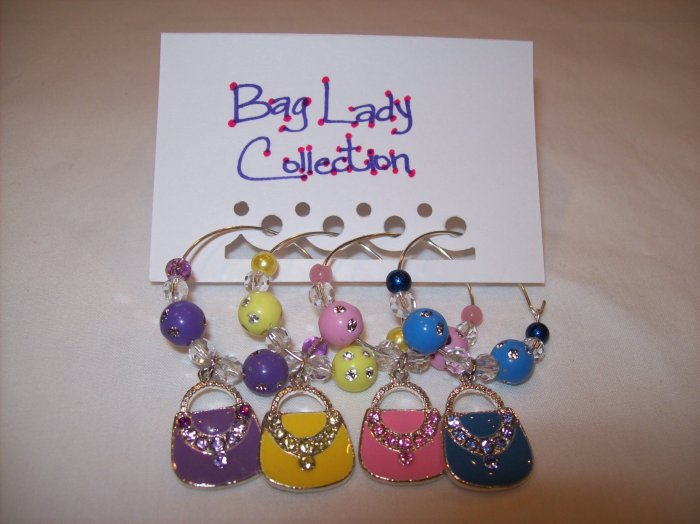 Bag Lady Wine Charms Collection