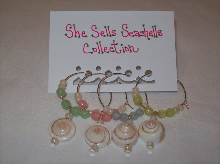 She Sells Seashells Wine Charms Collection