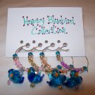 Happy Bluebird Wine Charms Collection