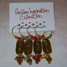 Golden Inspiration Wine Charms Collection