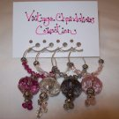 Vintage Chandeliers Wine Charms Collection