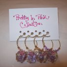 Pretty in Pink Wine Charms Collection