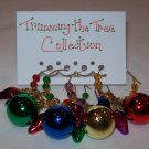 Trimming the Tree Christmas Wine Charms Collection