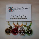 Holiday Sparkle Christmas Wine Charms Collection
