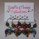 Hearts & Flowers Wine Charms Collection - Can Be Personalized