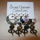 Snake Charmer Wine Charms Collection