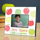 Happy Apples Personalized Teacher Picture Frame