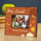 Springtime Celebration Personalized Teacher Picture Frame