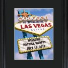 Personalized Vegas Marquee Framed Print