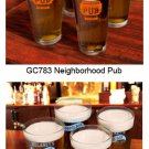 Personalized Pub Pint Glass Set