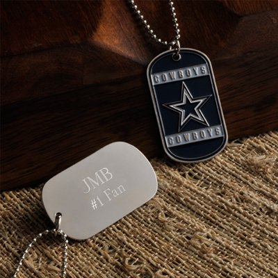 Personalized NFL Dog Tag Dallas Cowboys
