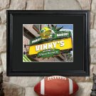 Personalized NFL Pub Print