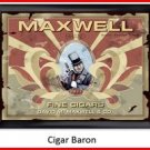 Personalized Traditional Pub Sign Cigar Baron