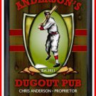 Personalized Traditional Pub Sign Dugout