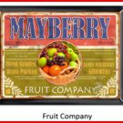 Personalized Traditional Pub Sign Fruit Company