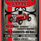 Personalized Traditional Pub Sign Garage