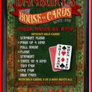 Personalized Traditional Pub Sign House of Cards
