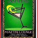 Personalized Traditional Pub Sign Martini Cosmo Chic