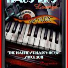 Personalized Traditional Pub Sign Piano Lounge