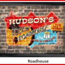 Personalized Traditional Pub Sign Roadhouse