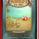Personalized Traditional Pub Sign Surfside Bar