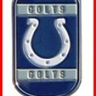 Personalized NFL Dog Tag Indianapolis Colts