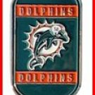Personalized NFL Dog Tag Miami Dolphins