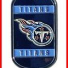 Personalized NFL Dog Tag Tennessee Titans