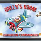 Personalized Childs Room Sign Fly Boy