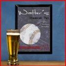 Traditional Sports Tavern Sign Baseball