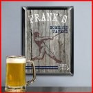 Traditional Sports Man Cave Pub Sign Homerun