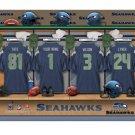 NFL Seattle Seahawks Personalized Locker Room Canvas Print