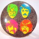 "Beatles 6"" Button Plaque Psychedelic Sgt. Pepper Era"