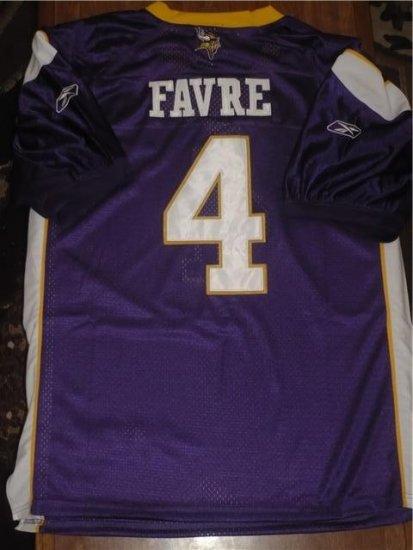**NEW**Minnesota Vikings Brett Favre Home Jersey