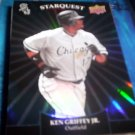 Ken Griffey Jr. 2009 Upper Deck Starquest Black White Sox