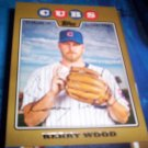 Kerry Wood 2008 Topps Gold Cubs