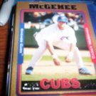 Casey McGehee 2005 Topps Update Gold RC Cubs