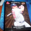 Kevin Youkilis 2009 Upper Deck Starquest Gold Red Sox
