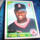 Mo Vaughn 1990 Score RC Red Sox