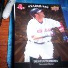 Dustin Pedroia 2009 Upper Deck Starquest Gold Red Sox