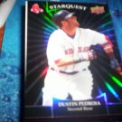 Dustin Pedroia 2009 Upper Deck Starquest Black Red Sox