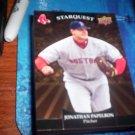 Jonathan Papelbon 2009 Upper Deck Starquest Gold Red Sox