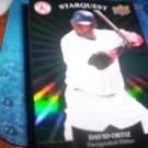 David Ortiz 2009 Upper Deck Starquest Emerald Red Sox