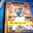 David Ortiz 2005 Topps Update Gold Red Sox