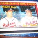 Chipper Jones/Ryan Klesko 1994 Topps Coming Attractions Braves