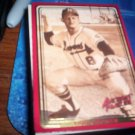 Bob Uecker 1993 Action Packed ASG Braves